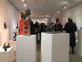 Candice's work at the Sculpture Show at the Curwen Gallery in London